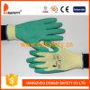 Ddsafety 2017 Green Latex Coating Work Glove
