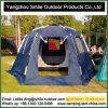 Sound Proof Doube Layers Family Camping Automatic Hexagon Tent