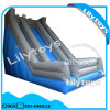 Colorful Inflatable Curved Slide, Inflatable Castle/Slide Combo for Sale