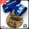 High Quality Custom Sports Cycling Antique Gold Medal