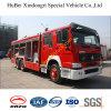 14tons Sinotruk HOWO Dry Powder Fire Truck Euro3