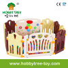 2017 Hot Selling Plasic Indoor Baby Playpen with Game Fence (HBS17067A)