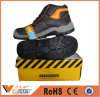 Classical Design Leather Ankle Boots Casual Mens Groundwork Safety Shoes