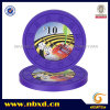 9.5g One Color Pure Clay M Engraved Sticker Chip (SY-C14-1)
