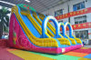 Customized Little Inflatable Double Slide with Toys Chsl643
