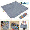 Multifunction Sand Proof Light Picnic Mat &Storage Bag for Outdoor Beach Camping
