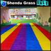 PE+PP 5 Years Life Guarantee Colorful Synthetic Turf