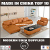 Popular Living Room Genuine Leather Sofa Set (LZ-706)