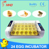 Hot Sale Yz-24A Automatic Poultry Egg Incubator for Sale