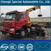 6X4 Sinotruk HOWO Tractor with Crane