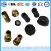 Water Meter Fittings with Plastic/Brass Body
