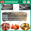 2016 Stainless Steel Brush Type Cassava Skin Peeling Machine