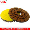 Diameter 125mm Triple Row Concrete Resin Polishing Pads