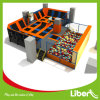 Indoor Big Trampoline Park Bungee Trampoline with Foam Pit