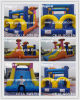 Obstacle Course Slide Bouncy House Tunnel Inflatable Sport Game (MJE-033)