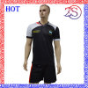 Customized 100% Polyester Mesh Wicking Material Football Jersey
