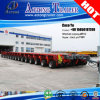 Multi Row Axles Hydraulic Gooseneck Modular Trailer with Draw Bar