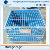 Fold Away Steel Storage Mesh Cage Box Pallet