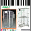 Logistic Roll Cage Trolley with Middle Shelf and Top Cover