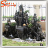 Factory Direct Decorative Modern Garden Stone Buddha Wall Fountain Rock