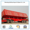 3 Axles Side Wall Semi Trailer Side Dumper Truck Trailer for Cargo Transportation