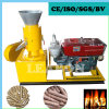 CE Small Flat Die Diesel Wood Pellet Press Mill Machine
