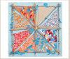 2016 High Quality Fashion Silk Printed Scarf for Women Bss1018