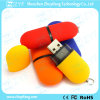 Hot Sale Pill Shape Plastic USB Flash Drive (ZYF1224)