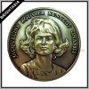 Elegant 3D Challenge Coin in Antique Bronze Color (BYH-10440)