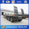 3 Axles 60ton Low Bed Semi Truck Trailer for Sale