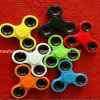 Cheap Fidget Spinner Solid Color Hand Spinner Finger Spinner Toys Fight EDC Tri Digit Air Plastic Finger Gyro Spinners