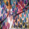 100%Silk Digital Printed Silk Satin for Dress Fabric
