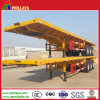 Tri-Axle Transport Container 40FT Flatbed Container Semi Trailer