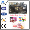 Best Lollipop Making Machine/Bonbon Candy Mix Fruit Jelly Making Machine with Flat Lollipop/Flat Lollipop Machine