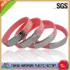 Printed Metal Aluminum Silicone Bracelet (TH-69873)