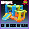 Inflatable Nylon Combo, Small Castle