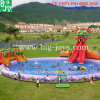 Cheap Inflatable Dragon Water Park with Swimming Pool