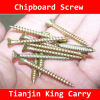 Yellow Zinc Chipboard Screw (SW002)