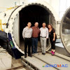 2000X4500mm ASME Approved PVB Laminated Glass Autoclave (SN-BGF2045)
