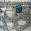 Hollow Round Holes Punched / Perforated Aluminum Panels for Ceilings