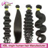 Heathy End Natural Color Virgin Peruvian Good Hair Extensions