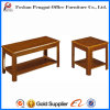 Luxury Style Wooden Coffee Table Square Tea Table (D-023)
