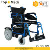 Topmedi Disabled Outdoor Aluminum Foldable Electric Power Wheelchair