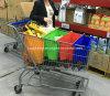 4PCS Supermarket Reusable Foldable Trolley Bag Shopping Cart Organizer Bag