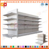 Factory Customized Supermarket Flat Back Gondola Display Shelving (Zhs298)