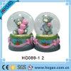 Resin Love Snow Globe for Wedding Souvenir (HG158)