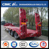 50t Lowbed Semi-Trailer with Concave Beam