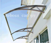 Polycarbonate DIY Shutter / Canopy / Sunshade/ Shed for Windows& Doors (V1200A-L)