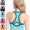 Women Quickly Dry Sports Bra Running Gym Wears Athletic Clothes