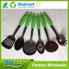 High Quality Heat Resistant Nylon Cooking Utensil Set, Green